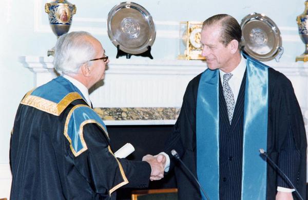 HRH The Prince Philip, Duke of Edinburgh at 38 Portland Place