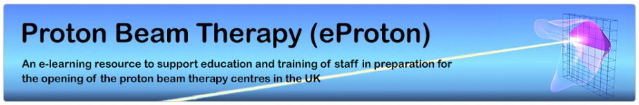 Logo for the e-Proton e-learning programme