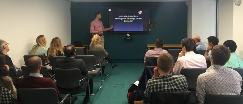 Presentation from Aberdeen to URSA
