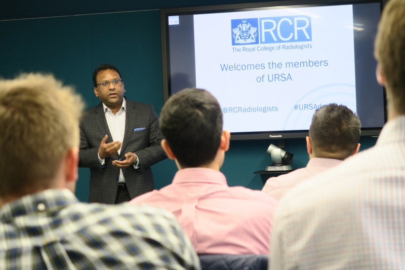 Dr F Chowdhury Presenting to URSA