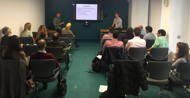 Presentation from Leeds to URSA