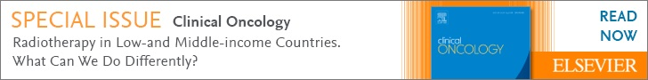 Clinical Oncology special issue - Radiotherapy in low and middle income countries banner