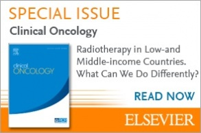 Clinical Oncology special issue - Radiotherapy in low and middle income countries