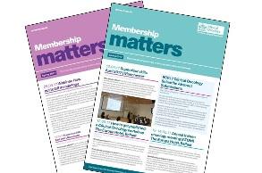 Membership matters cover images