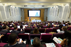 Artificial intelligence event lecture theatre
