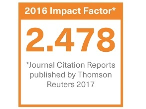 Badge to show Clinical Radiology journal impact factor 2016: 2.478