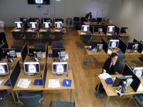 Examination set-up
