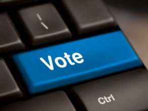 Vote online in the College elections