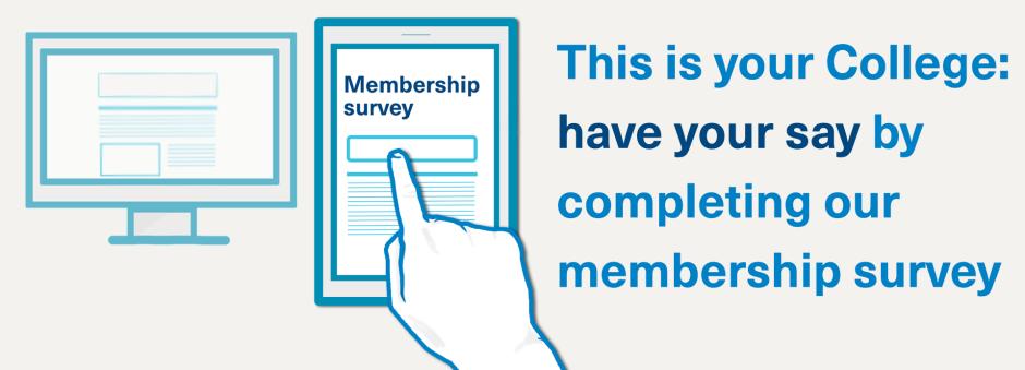 Take our 2018 membership engagement survey