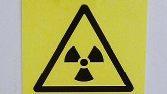 Radioactive substances sign