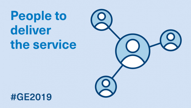 Manifesto 2019: people to deliver the service